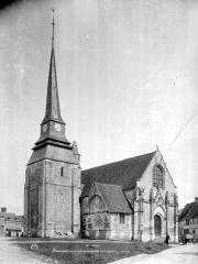 Eglise paroissiale Saint-Ouen - Ensemble nord-ouest