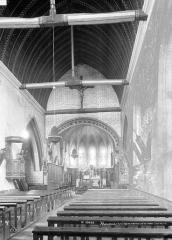 Eglise paroissiale Saint-Ouen - Nef, choeur