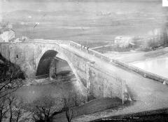 Vieux pont sur le Drac (également sur commune de Claix) - Vue à vol d'oiseau