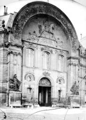 Hôtel des Invalides - Façade d'entrée : Porte centrale