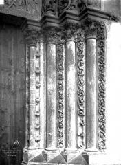 Sainte-Chapelle - Porte haute, piédroits
