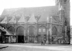 Ancienne église Saint-Laurent - Façade nord