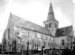 Eglise Saint-Jacques-le-Majeur - Côté sud