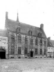 Hôtel de ville - Face postérieure