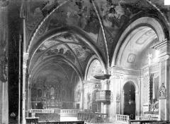 Monastère franciscain de Cimiez - Eglise, nef