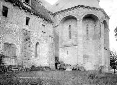 Ancien prieuré Saint-Michel des Anges - Eglise, abside