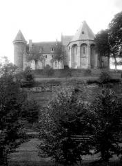 Ancien prieuré Saint-Michel des Anges - Eglise, angle de l'abside