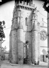 Eglise Notre-Dame de l'Assomption - Clocher, côté ouest : Partie basse