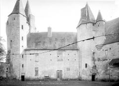 Château - Façade sur cour