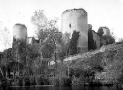 Château du Coudray-Salbart - Vue sur la rivière
