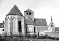 Ancienne abbaye ou prieuré Saint-Ayoul - Abside, ensemble
