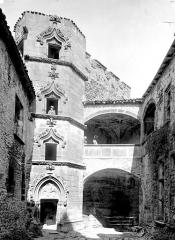 Château fort de Tournoël - Tourelle d'escalier