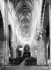 Eglise Notre-Dame-des-Marais - Nef, choeur