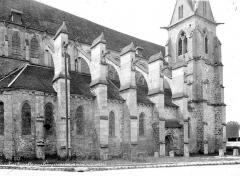 Eglise Notre-Dame de l'Assomption de la Chapelle-sur-Crécy - Façade sud