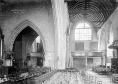 Ancienne église Notre-Dame-de-Froide-Rue ou église Saint-Sauveur - Nef
