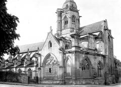 Ancienne église de Saint-Etienne-le-Vieux, actuellement magasin communal - Ensemble sud