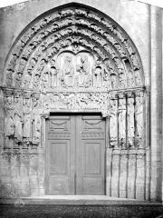 Ancienne cathédrale et son chapître - Portail ouest