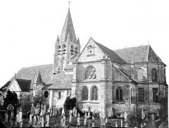 Eglise Saint-Aubin - Ensemble sud