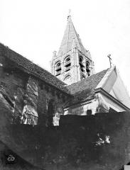 Eglise Saint-Aubin - Clocher et transept