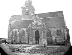 Eglise de la Nativité de la Vierge et Saint-Fiacre - Ensemble nord