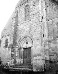 Eglise de la Nativité de la Vierge et Saint-Fiacre - Portail ouest