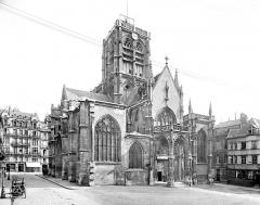 Ancienne église Saint-Vincent - Ensemble ouest