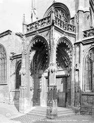 Ancienne église Saint-Vincent - Porche