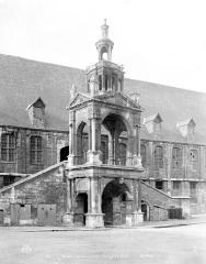 Fierte Saint-Romain ou chapelle Saint-Romain, à la Haute-Vieille-Tour - Plan de la haute vieille tour