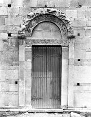 Eglise de la Canonica - Portail ouest