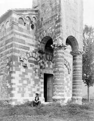 Eglise Saint-Michel - Porche ouest, détail