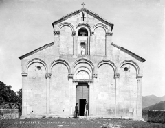 Eglise Sainte-Marie (ancienne cathédrale de Nebbio) - Façade