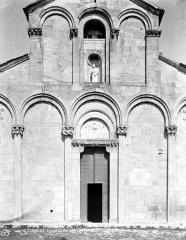 Eglise Sainte-Marie (ancienne cathédrale de Nebbio) - Façade, détail