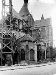 Eglise Saint-Nicolas-Saint-Lomer - Abside