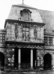 Hôtel Carnavalet - Façade de pavillon, anciennement rue Richelieu