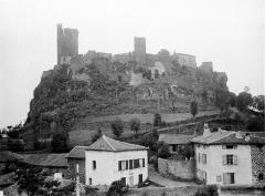 Ruines du château fort - Ensemble