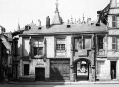 Hôtel de Bourgtheroulde - Façade sur la place