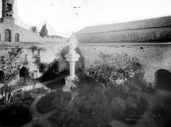 Abbaye Saint-Honorat (vestiges de l'ancienne) - Cloître