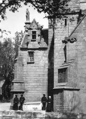 Eglise Notre-Dame de Croaz-Batz et enclos - Porche sud