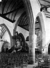 Eglise Notre-Dame de Croaz-Batz et enclos - Nef, choeur