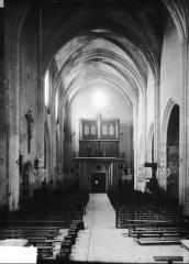 Eglise Saint-Laurent - Entrée, vue sur l'entrée