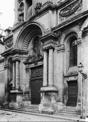 Ancienne abbaye Saint-Léger - Façade ouest du séminaire