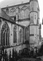 Ancienne abbaye Saint-Léger - Nef et transept