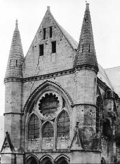 Ancienne abbaye Saint-Léger - Transept sud, pignon