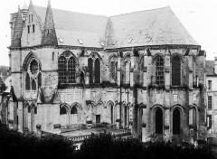 Ancienne abbaye Saint-Léger - Ensemble sud-est