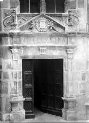 Hôtel d'Uzès - Porte d'escalier