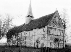 Ancienne église de Sainte-Marie-aux-Anglais - Ensemble nord-ouest