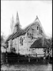 Ancienne église de Sainte-Marie-aux-Anglais - Ensemble sud-est