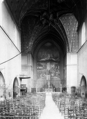 Eglise Saint-Jean - Nef, choeur