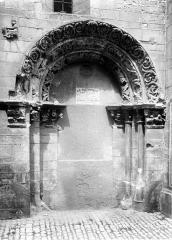 Eglise Saint-Philibert - Porche sud, mur