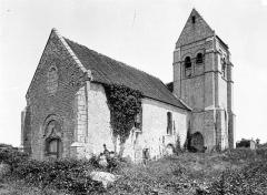 Ancienne église de Noël-Saint-Martin - Ensemble sud-ouest